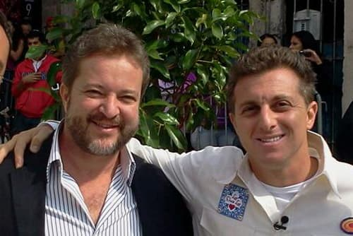 Dr Wagner Montenegro e Luciano Huck