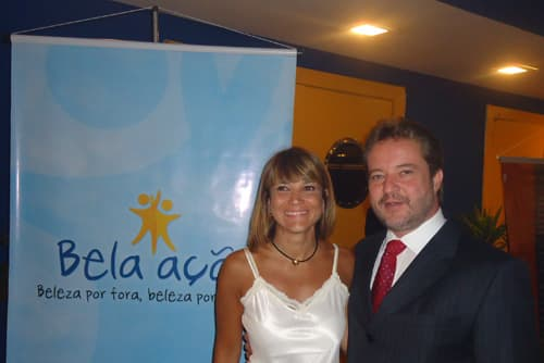Dr Wagner Montenegro e Patricia Limeira